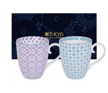 Zestaw kubków Purple & Green Tokyo Design Studio, 2 szt.