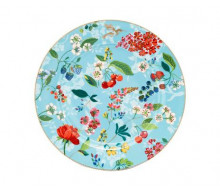 Talerz obiadowy Humming Birds Blue PiP Studio, 32 cm