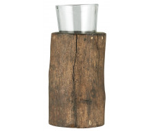 Świecznik drewniany Unique Ib Laursen