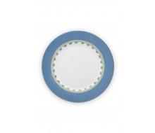 Talerz obiadowy La Majorelle Blue PiP Studio, 26.5 cm