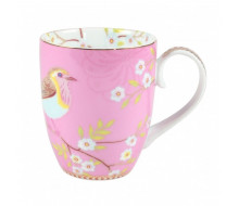 Kubek Early Bird Pink PiP Studio, 350 ml