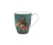 Kubek Winter Wonderland Squirrel Green PiP Studio, 350 ml