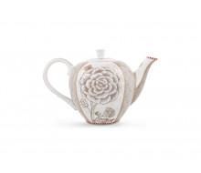 Dzbanek do herbaty Spring to Life Off White PiP Studio, 800 ml