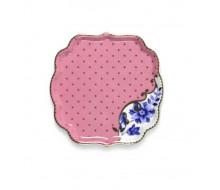 Talerzyk na herbatę Royal Pink PiP Studio, 10 cm