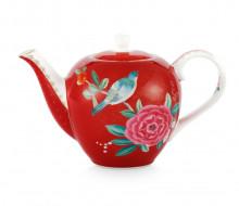 Dzbanek do herbaty Blushing Birds Red PiP Studio, 750 ml