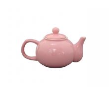 Dzbanek do herbaty różowy Krasilnikoff, 1000 ml
