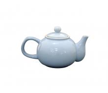 Dzbanek do herbaty błękitny Krasilnikoff, 1000 ml