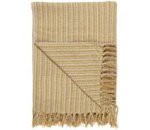 Koc/pled yellow stripe Ib Laursen