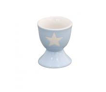Kieliszek na jajko Star Blue Krasilnikoff