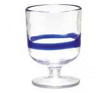 Zestaw kieliszków do wina/wody Stripe Blue Green Gate, 6 szt.