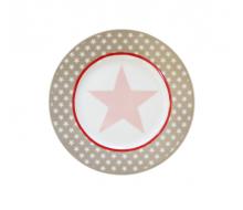 Talerz deserowy Big Star Milky Brown Krasilnikoff, 20 cm