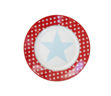 Talerz deserowy Big Star Red Krasilnikoff, 20 cm