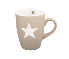 Kubek Star Milky Brown Krasilnikoff, 250 ml