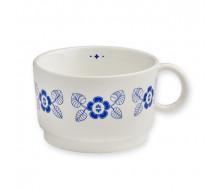 Filiżanka porcelanowa Blue leavesMr & Mrs Clynk, 230 ml