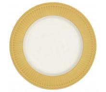 Talerz obiadowy Alice Honey Mustard Green Gate, 26,5 cm