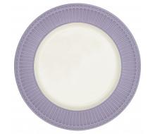 Talerz obiadowy Alice Lavender Green Gate, 26,5 cm