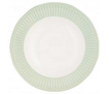 Talerz obiadowy Alice Pale Green Green Gate, 26,5 cm