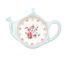 Talerzyk na herbatę Sonia White Green Gate, 10 cm