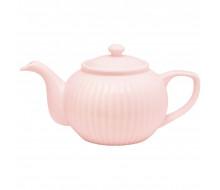 Dzbanek do herbaty Alice Pale Pink Green Gate, 1100 ml