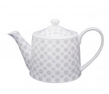 Dzbanek do herbaty Grey Diagonal Krasilnikoff, 1000 ml