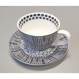 Filiżanka do cappuccino Zigzags