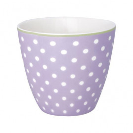 Kubek latte Spot Lavendar