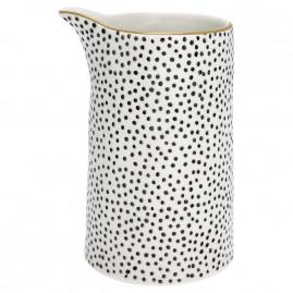 Dzbanek ceramiczny w kropki Green Gate