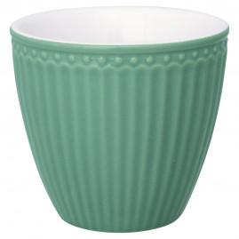 Kubek latte Alice Dusty Green, Green Gate, 250 ml
