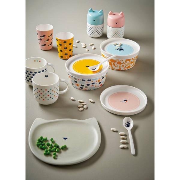 Kubek porcelanowy w kotki