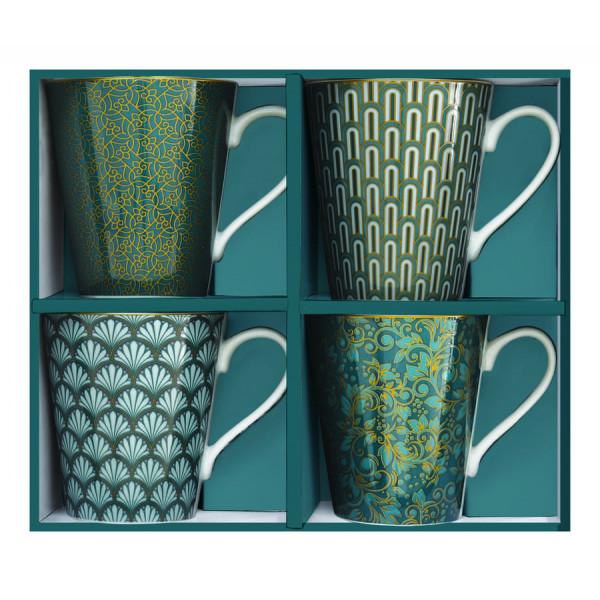 Kubki porcelanowe Coffeemania Eden