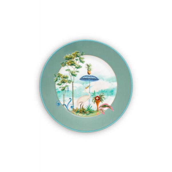 Talerz deserowy Jolie Blue 21 cm