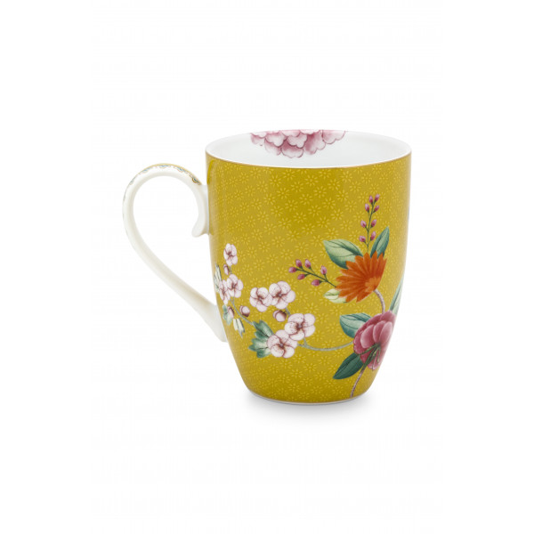 Kubek porcelanowy Blushing Birds Yellow PiP Studio