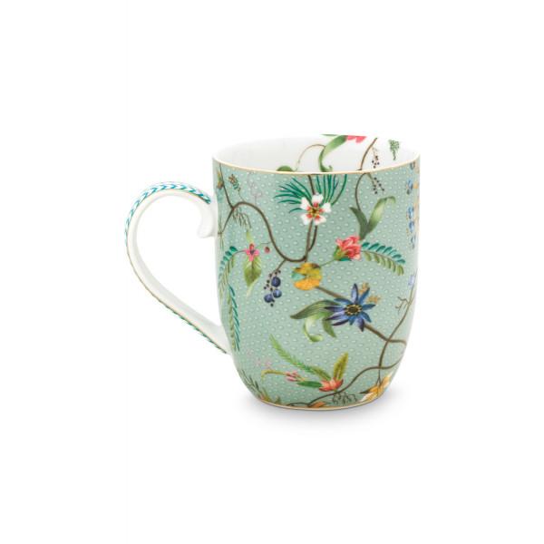 Mały zestaw do herbaty Jolie Flowers Blue set/3
