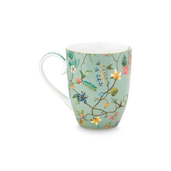 Kubek porcelanowy Jolie Flowers 350 ml