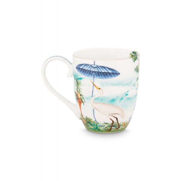 Kubek porcelanowy Jolie Heron 450 ml