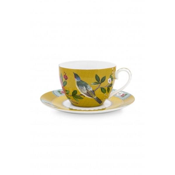 Filiżanki Blushing Birds Yellow
