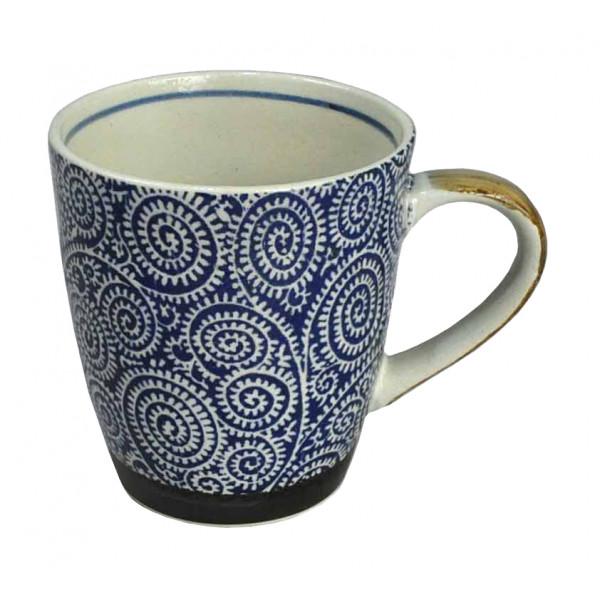 Kubek porcelanowy Mosquito Blue