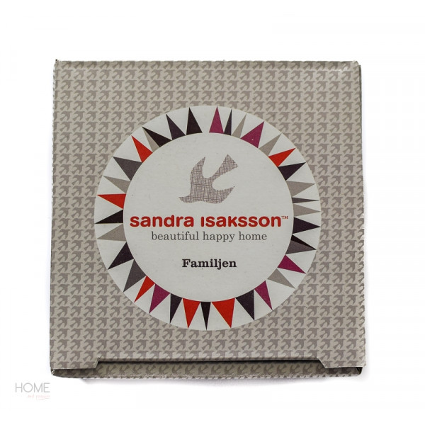 kubek porcelanowy Familjen Sandra Isaksson gift box