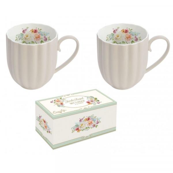 Kubki porcelanowe latte Easy Life
