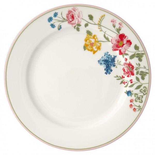 Talerz obiadowy Thilde White