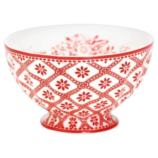 Miseczka porcelanowa Bianca Red
