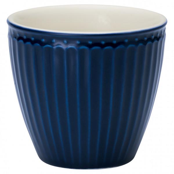 Kubek latte Alice Dark Blue Green Gate, 250 ml