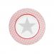 Talerz deserowy Big Star Pink Krasilnikoff, 20 cm